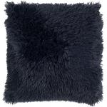 Kussenhoes KH Fluffy 45x45 cm donkerblauw