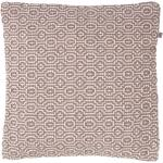 Kussenhoes Justina 45x45 cm taupe